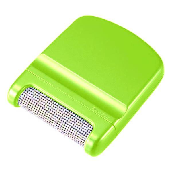 【送料無料】(まとめ) 毛玉取り器/毛玉クリーナー 【グリーン】 電池不要 軽量・コンパクト 【×30個セット】