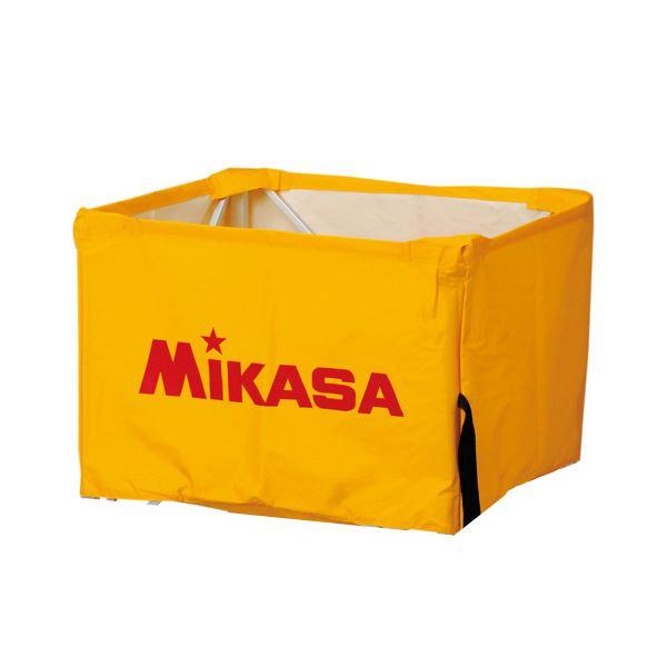 【送料無料】MIKASA(ミカサ)器具 ボールカゴ用(箱型・大、箱型・中、屋外用) 幕体のみ イエロー 【BCMSPHS】