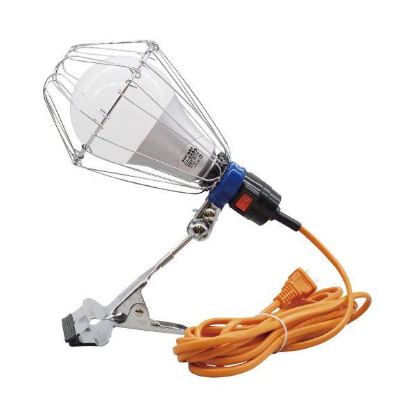 (まとめ)WINGACE LED電球付クリップランプ ニュールミネα(×5セット)