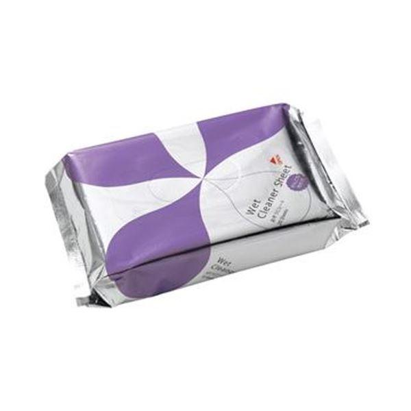 【送料無料】(まとめ)TANOSEE おそうじシートがんこな汚れ用 1パック(20枚)【×50セット】