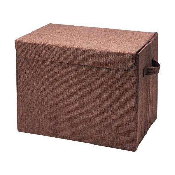 【送料無料】(まとめ)イデアス フタ付収納BOX ISFL-1 1個【×5セット】