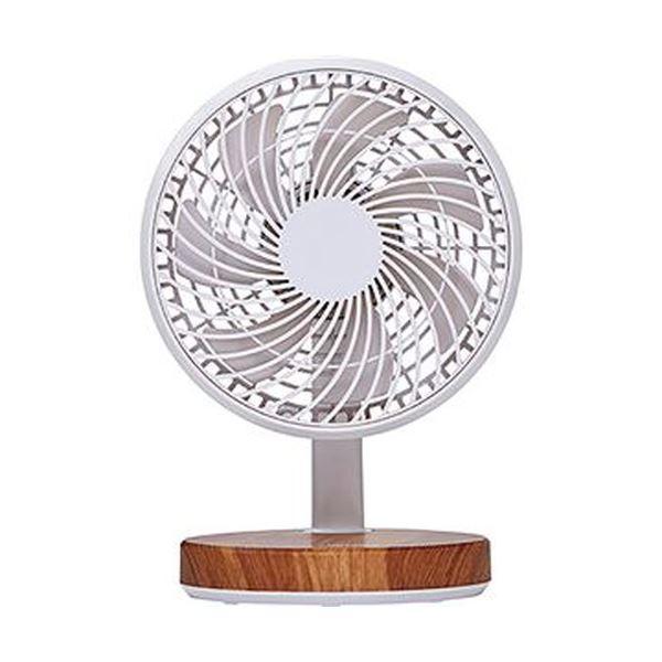 【送料無料】(まとめ)コイズミ 卓上扇風機 木目KLF-1395/MY 1台【×10セット】