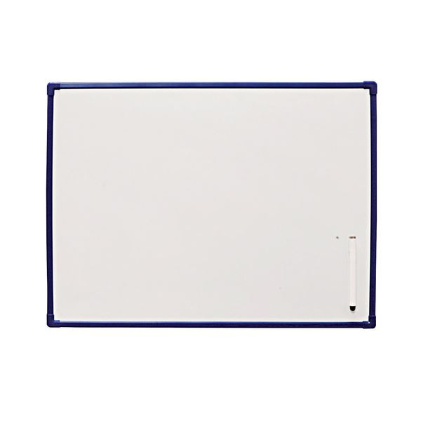 【送料無料】(まとめ) アイリスオーヤマ ホワイトボード 600×450mm NWP-46 1枚 【×10セット】