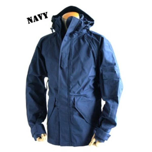 【送料無料】アメリカ軍 ECWC S-1ジャケット/パーカー 【 Lサイズ 】 透湿防水素材 JP041YN ネイビー 【 レプリカ 】