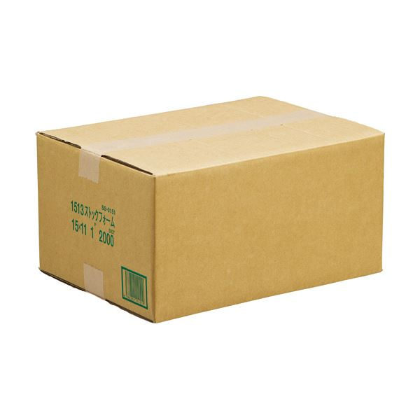 【送料無料】(まとめ) 罫入ストックフォーム 15×11インチ 3ライン入 1200151 1箱(2000折) 【×5セット】