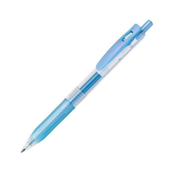 【送料無料】(まとめ) ゼブラ ゲルインクボールペン サラサクリップ 1.0mm シャイニーブルー JJE15-SBL 1本 【×100セット】