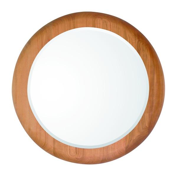 【送料無料】デザイン ウォールミラー/壁掛け鏡 【MUKU5656】 飛散防止加工 『MUKU』【代引不可】