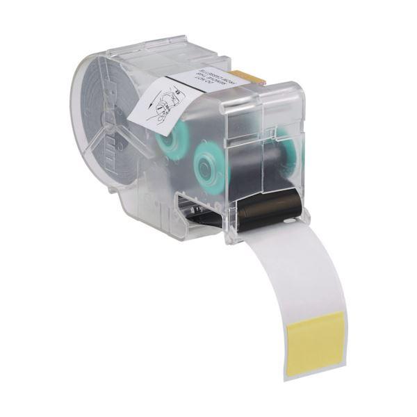 【送料無料】(まとめ)パンドウイット熱転写ハンディプリンタ用セルフラミネートラベル 黄 S100X150VIC 1巻【×3セット】