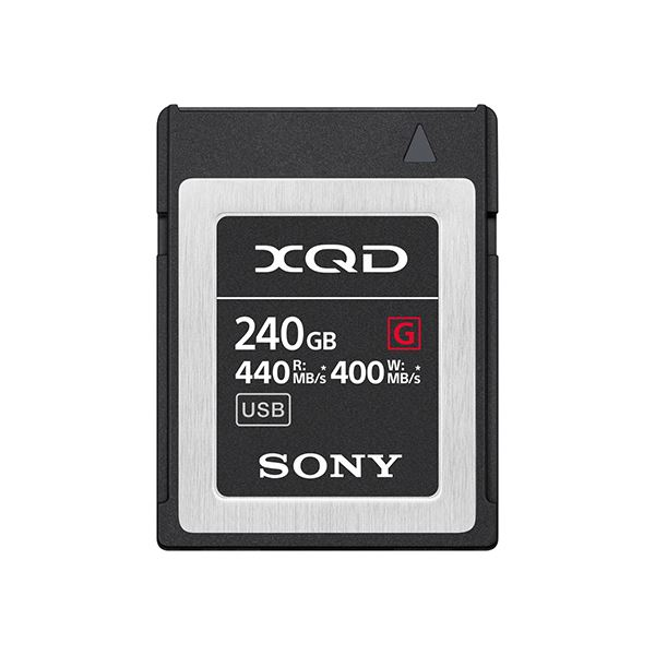 XQDメモリーカード Gシリーズ 240GB