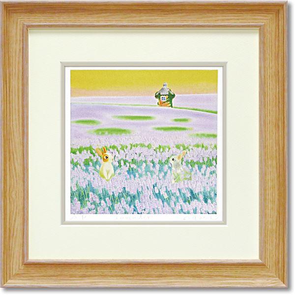 くりのきはるみ ジグレーアートフレーム KH-10130 Lavender