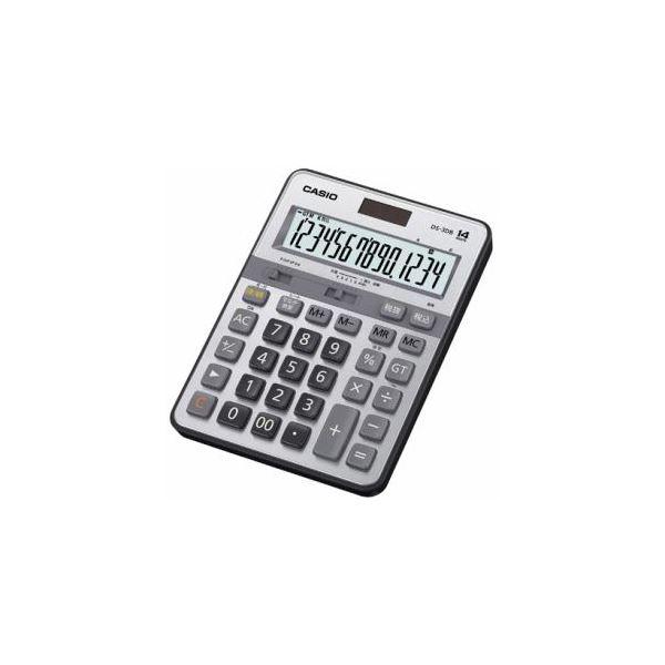 【送料無料】CASIO 本格実務電卓 14桁 DS-3DB