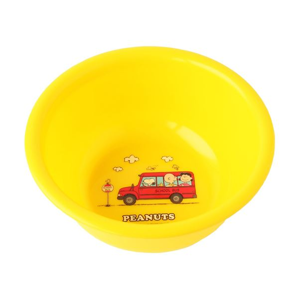 【送料無料】(まとめ) 湯桶/洗面器 【子供用】 バス用品 『スヌーピー』 【36個セット】
