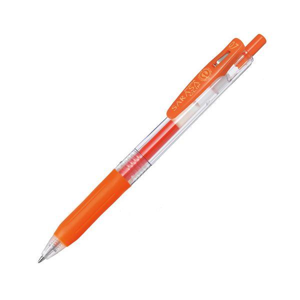 【送料無料】(まとめ) ゼブラ ゲルインクボールペン サラサクリップ 0.7mm レッドオレンジ JJB15-ROR 1本 【×100セット】
