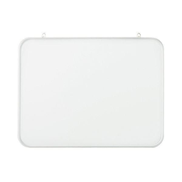 【送料無料】(まとめ) TANOSEE アルミ枠 ホワイトボード無地 600×70×450mm 1枚 【×10セット】