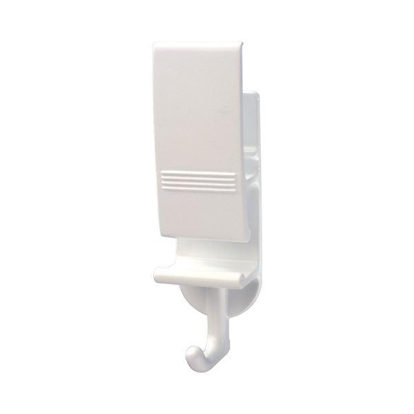 【送料無料】おふろべんりフック/浴室用フック 【ホワイト】 約幅5×奥行3.5×高さ12.5cm 吸着シート くり返し使用可 【120個セット】 レック