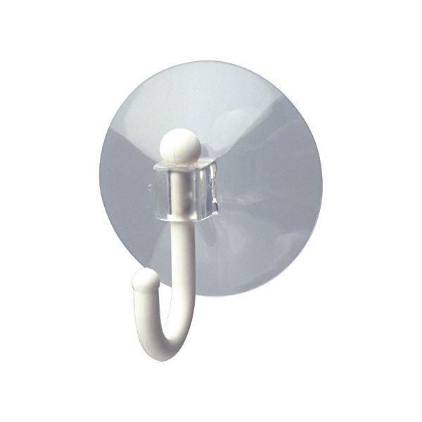 【送料無料】(まとめ) おふろ吸盤フック 【L】 大型吸盤 ホワイト 浴室収納 レック 【120個セット】