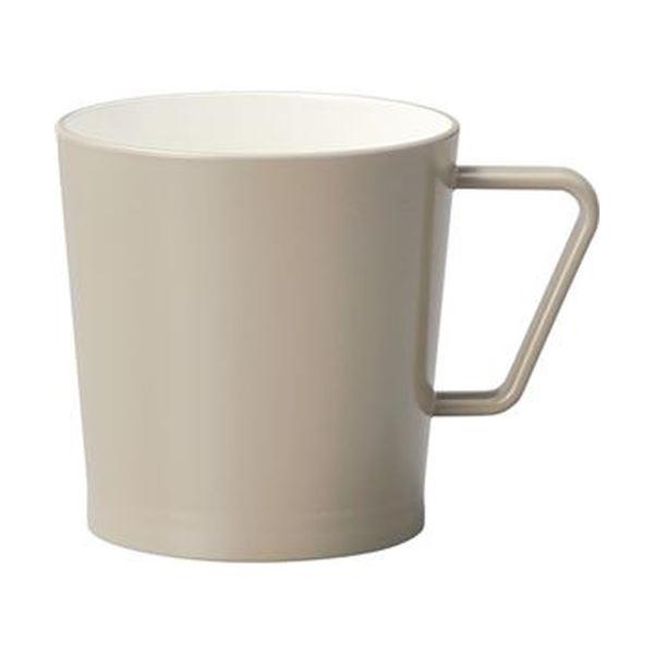 【送料無料】(まとめ)イシダ Hill マグカップ アースブラウン 1個【×20セット】