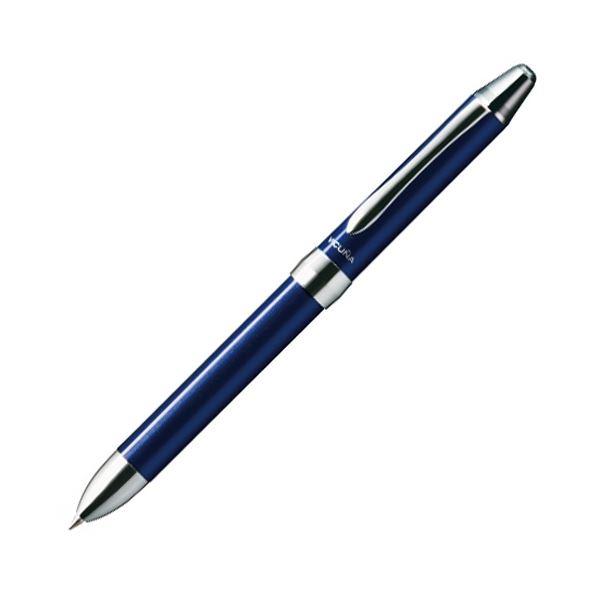 (まとめ) ぺんてる 多機能ペン ビクーニャEX 2+S (軸色 ブルー) XBXW1375C 1本 【×10セット】