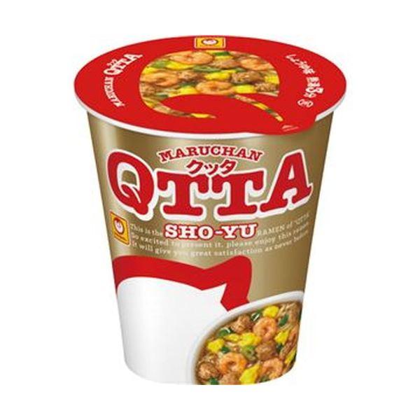 【送料無料】(まとめ)東洋水産 MARUCHAN QTTA SHO-YUラーメン 78g 1ケース(12食)【×4セット】