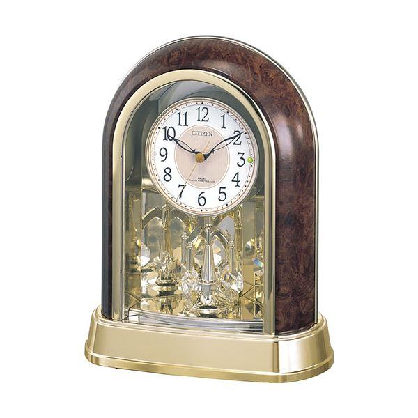 【送料無料】シチズン 電波置時計 C1064034