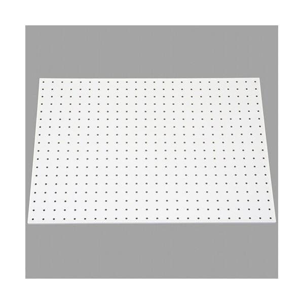 【送料無料】光 パンチングボード フレーム付(約450×600mm) 白 PGBD406-2 1セット(5枚)