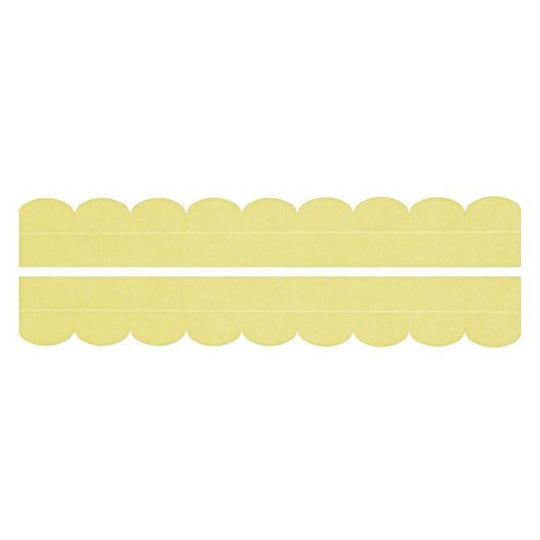 【送料無料】(まとめ) 便器すきまテープ/トイレ用品 【2枚入り イエロー】 カット可 簡単貼り付け・着脱 洗える 汚れ防止 【×200個セット】