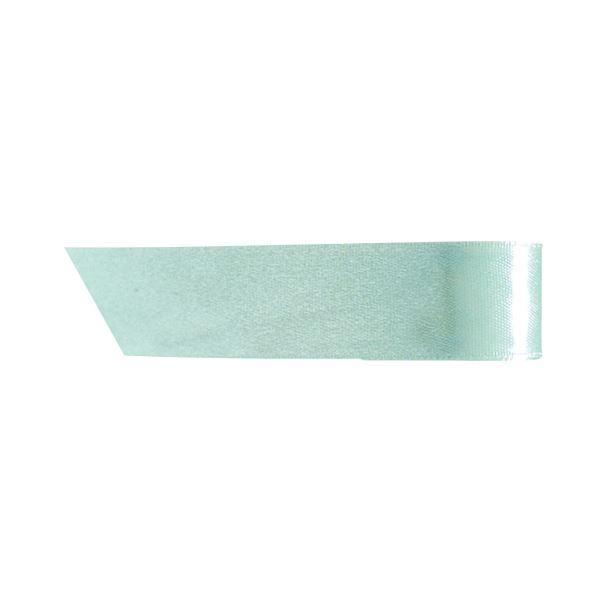 【送料無料】(まとめ) ヘッズ 片面サテンリボン幅19mm×20m ライトブルー 1931R 1巻 【×30セット】