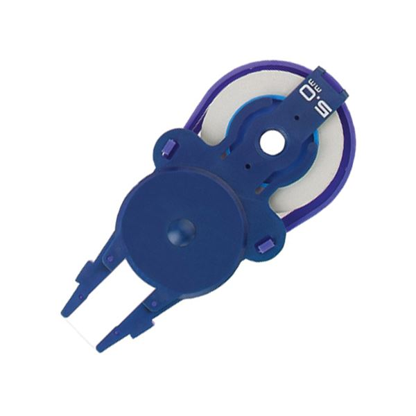 (まとめ) プラス 修正テープ ホワイパースライドベーシックカラー 交換テープ 5mm幅×10m ブルー WH-015R 1個 【×50セット】