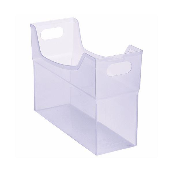 希少 書類や小物の整理に便利なフリーボックス 送料無料 まとめ ライオン事務器 フリーボックス PP製 紫 ×10セット 背幅127mm ふるさと割 A4ヨコ 1個 CS-110P