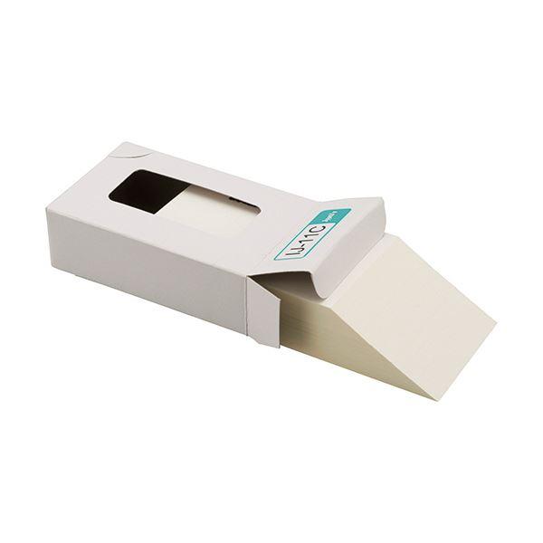 【送料無料】(まとめ) ジャストコーポレーション カラーIJ専用名刺用紙 ナチュラル 厚手 IJ-11C 1箱(100枚) 【×30セット】