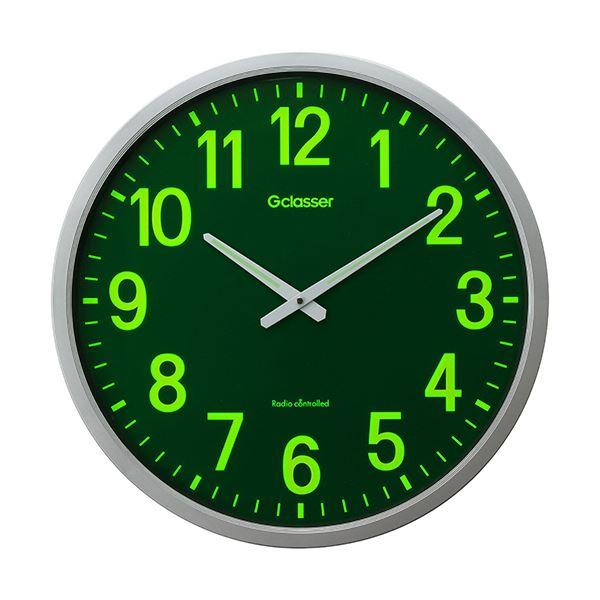 【送料無料】ラドンナ 電波掛時計 ザラージ集光・蓄光文字盤 GDKS-001 1台