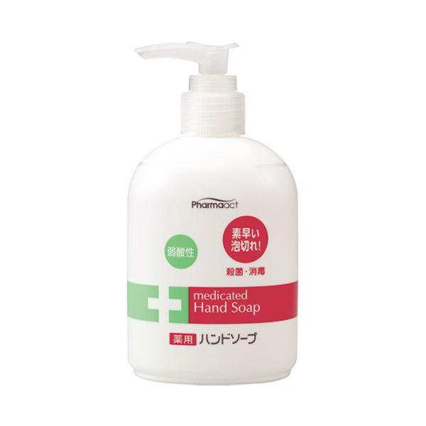 【送料無料】(まとめ) 熊野油脂 ファーマアクト液体ハンドソープ本体 250mL【×30セット】