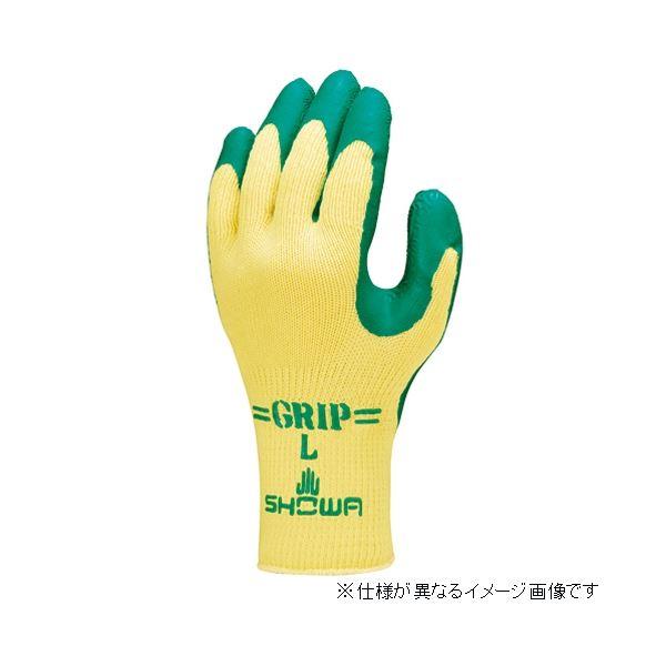 【送料無料】(まとめ)ショーワグローブ 313 グリップ(ソフトタイプ)3双 M/グリーン【×30セット】