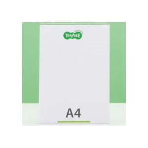 【送料無料】(まとめ) TANOSEE 再生PETサインスタンド 片面用 A4タテ 1個 【×30セット】