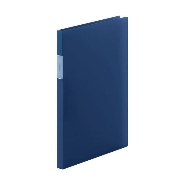 【送料無料】(まとめ) キングジム FAVORITESZファイル(透明) A4タテ 120枚収容 背幅17mm ネイビー FV558Tネイ 1冊 【×30セット】