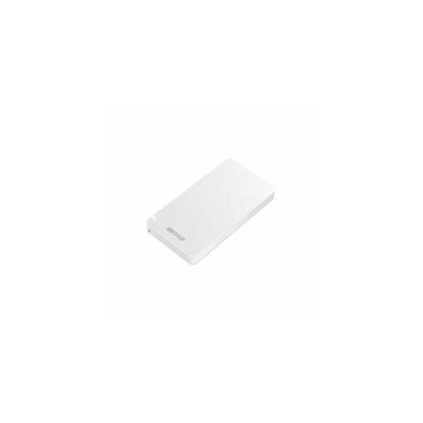 【送料無料】BUFFALO SSD 480GB ホワイト SSD-PGM480U3-W