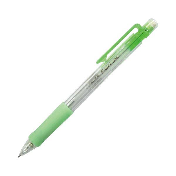 【送料無料】(まとめ) セーラー万年筆 再生工場 フェアライン シャープ SHARPペンシル 0.5mm (軸色 グリーン) 21-3083-560 1本 【×300セット】