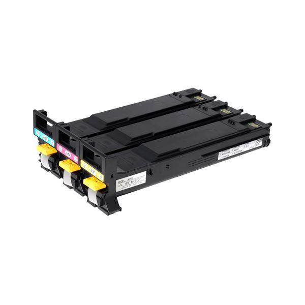 【送料無料】コニカミノルタ大容量カラートナーカートリッジ バリューパック A06VJ73 1箱(3個:各色 1個)
