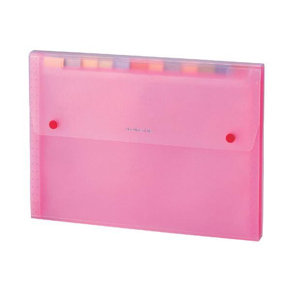 ケース フォルダー ボックス 持ち出しファイル 捧呈 ドキュメントファイル 祝日 送料無料 まとめ セキセイ SSS-1212-21ピンク 1冊 13ポケット A4 ×30セット