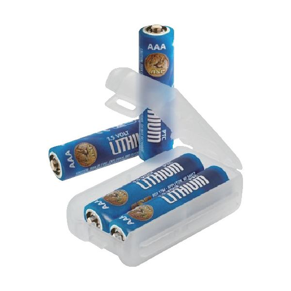 (まとめ) ASP 単4リチウム乾電池 530341パック(4本) 【×10セット】