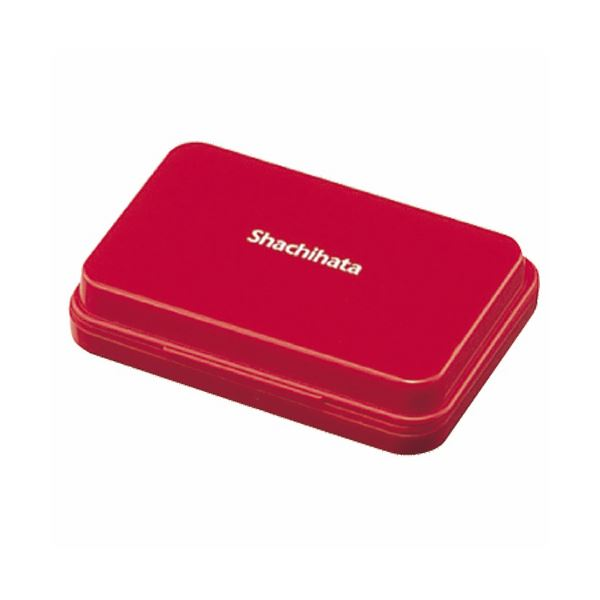 【送料無料】(まとめ) シヤチハタ スタンプ台 小形 赤 HGN-1-R 1個 【×30セット】