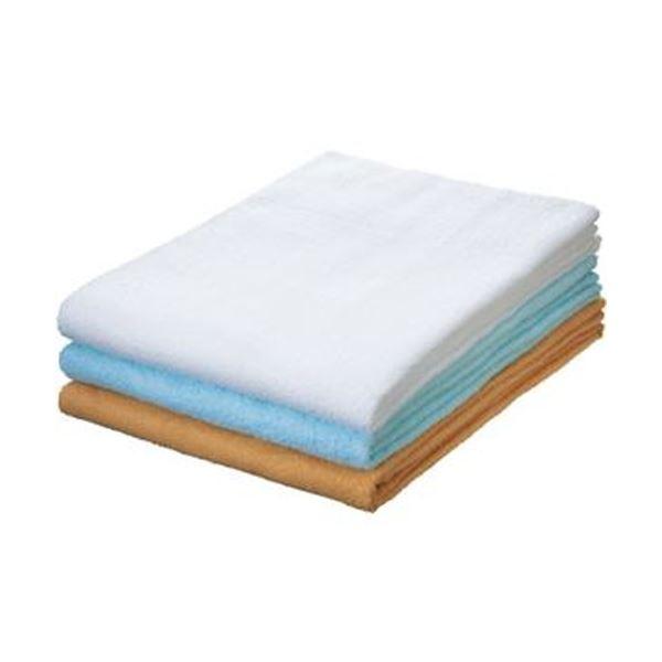 【送料無料】(まとめ)タオルケット 140×190cm ブルー 1枚【×5セット】