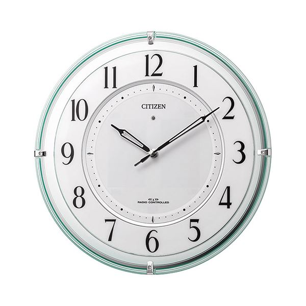 【送料無料】シチズン ソーラー電源併用式掛時計 K90905914