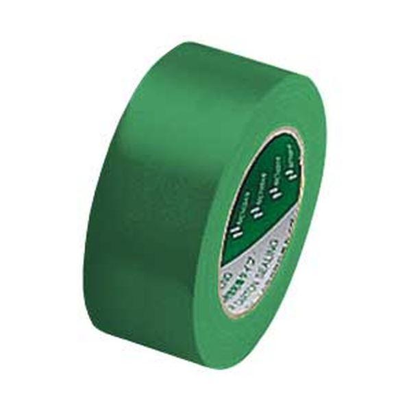 【送料無料】ニチバン カラー布テープ(厚手) グリーン 1箱(30巻)