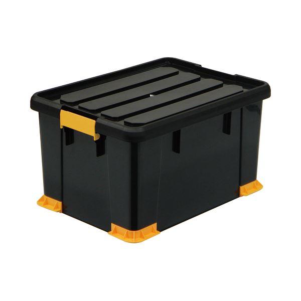 【送料無料】(まとめ) サンカ 頑丈箱(工具箱) ブラック 53×30cm TCP-53-30 1個 【×5セット】