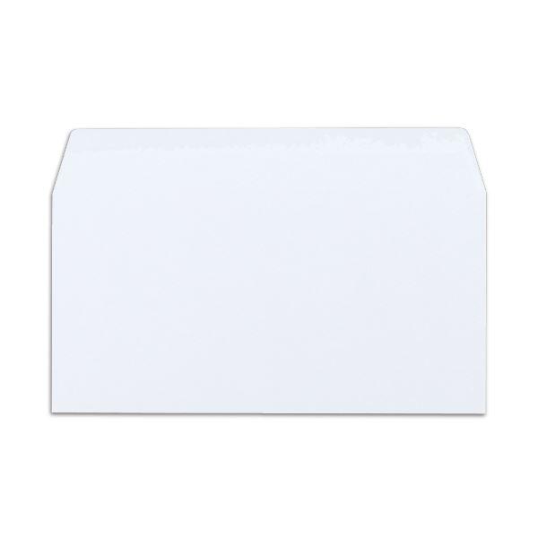 (まとめ) ハート レーザープリンター対応封筒 クオリス 洋長3 104.7g/m2 ホワイト 裏地紋入 YWP959 1パック(50枚) 【×10セット】