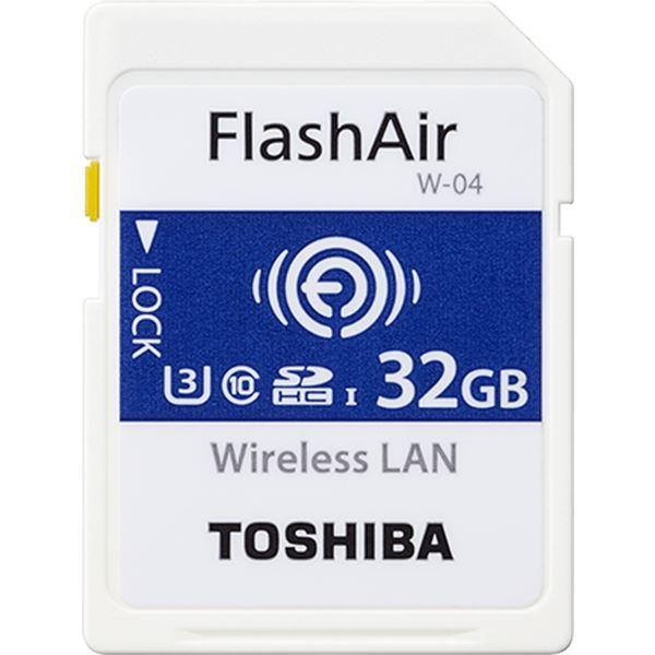 【送料無料】無線LAN搭載SDHCメモリーカード「FlashAir」 32GB