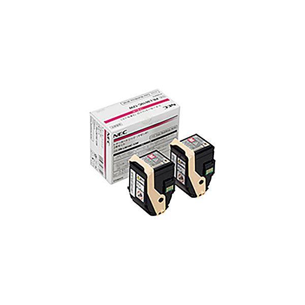 【純正品】 NEC エヌイーシー トナーカートリッジ 【PR-L9010C-12W MX2 マゼンタ】 2本セット