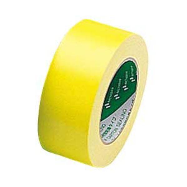 【送料無料】ニチバン カラー布テープ(厚手) イエロー 1箱(30巻)