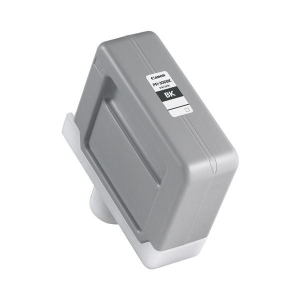 (まとめ) キヤノン Canon インクタンク PFI-306 顔料ブラック 330ml 6657B001 1個 【×3セット】